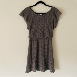 Mimi Chica   NWOT Banded Lace Knit Dress